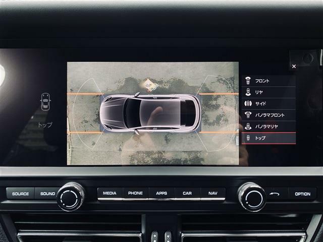 サラウンドビュー付アシストカメラ(360度)に加え車輌の前後バンパーに装着されたパーキングセンサーが障害物を検知し車庫入れも安心。★詳細は03-6666-2544まで、お気軽にお問合せください★