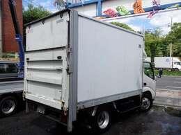 平成12年式 トヨタ ダイナ 2t アルミバンパワーゲート付 600kg NOx適合ディーゼル1ナンバー車入庫です!!