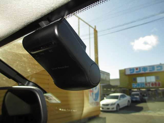 あると安心ドライブレコーダー装備