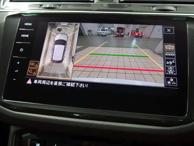 ■リアカメラ オプションのリアカメラ装備。パーキングセンサーも標準装備されておりますので、バック駐車もラクラクです。