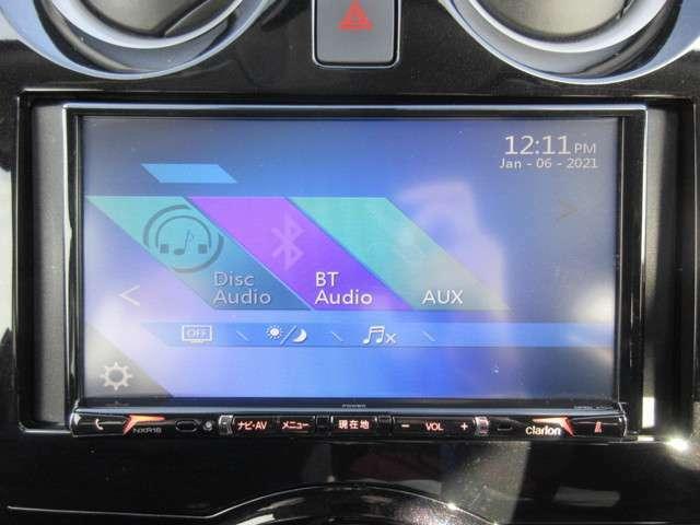 CD再生/Bluetooth接続できます☆