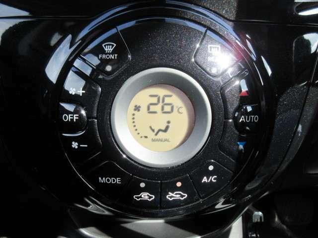 オートエアコンです!自動で温度を調節します☆