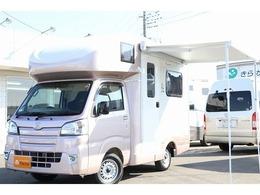 ダイハツ ハイゼットトラック 660 スタンダード SAIIIt 3方開 4WD JPSTARキャンピングカー ソーラー ヒーター
