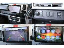 アンドロイドオーディオ バックカメラ ネット接続により Bluetooth Googleナビ 切り替え4WD 衝突回避支援システム