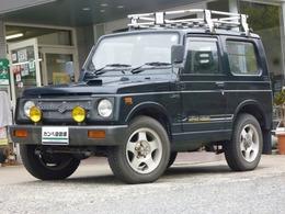 スズキ ジムニー 660 ワイルドウインド リミテッド 4WD 5速 ルーフラック