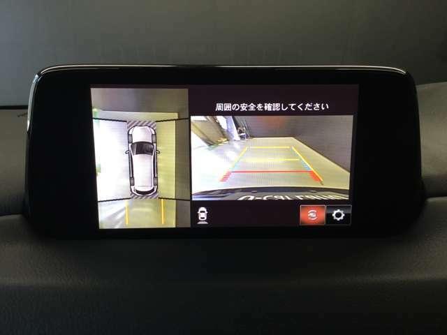 360°ビューモニターとバックカメラ搭載です☆後退時の不安もこれにて解消ですね☆