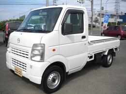 マツダ スクラムトラック 660 KC パワステ 3方開 4WD ワンオーナー