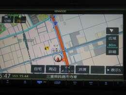 ★ナビ★ カーライフをもっと快適にしてくれるドライブの頼もしい味方!ナビゲーション付きです(*^-^*)毎日のお出かけを快適に導きます♪