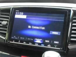 ギャザズ9インチメモリーナビ(VXM-187VFNi)を装着しております。AM、FM、CD、DVD再生、Bluetooth、音楽録音再生、フルセグTVがご使用いただけます。初めて訪れた場所でも道に迷わず安心ですね!