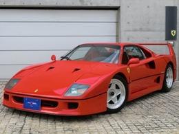 フェラーリ F40 前期ノンKATディーラー車タイベル交換渡し