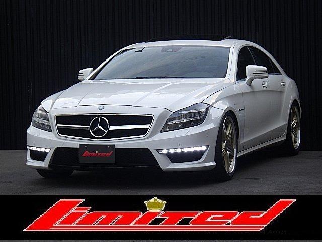 CLS350デジーノリミテッド AMGパッケージ→CLS63仕様 キーフリー、プッシュスタ-ト赤革シートSRナビ地デジTV、BカメラAUTOトランクAMGマット、シートヒータ&メモリ付きパワーシートPTSセンサなど機能満載のお車です