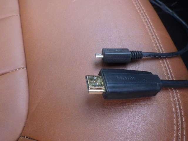 HDMI入力も装備されています。