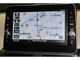 フルセグTV内蔵の『純正大型メモリナビ/型式MM318D-LM』を装着!!知らない道も快適ドライブ♪高画質のキレイな画面で検索スピードも速く目的地まで分かりやすく案内します☆★