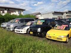 軽自動車~ミニバン、そしてGT&スポーツの格安車を多数展示!