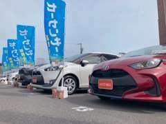 軽自動車・コンパクトカー・ミニバン・SUV・ハイブリッドカーなど、豊富な商品を展示しています。更に共有商品もご提案!