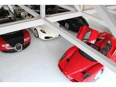 車1台1台に気を配り、在庫車輌は全て屋内保管しております。