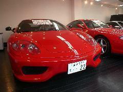 メンテナンスの済んだ展示車両。
