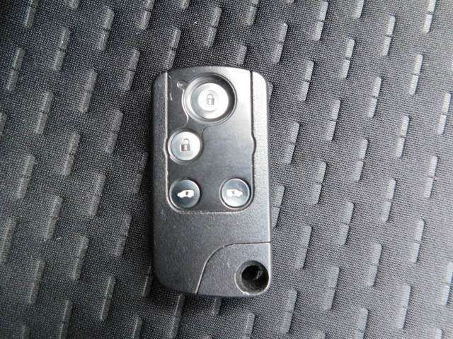 スマートカードキーの画像です。鍵を持っているだけで、操作可能です。鍵を探す手間が省けます。