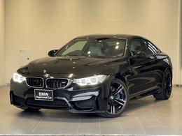BMW M4クーペ M DCT ドライブロジック MサスシルバーストーンレザーHUDパドルSOS