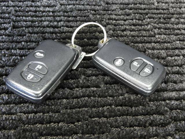 鍵は二個付いています!