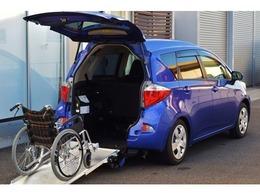 トヨタ ラクティス 1.3 X ウェルキャブ 車いす仕様車スロープタイプ タイプI 助手席側リアシート付 /5名乗り/車イス仕様/福祉車/リアスロープ