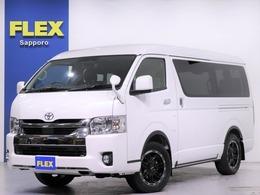 トヨタ ハイエース 2.7 GL ロング ミドルルーフ 4WD FLEX内装架装ver1 ナビ ETC