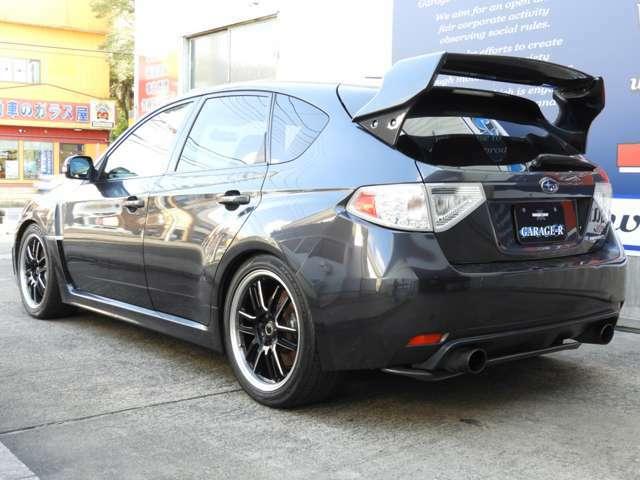 HKS GTタービン  RECARO 社外ラジエタ- 車高調 マフラ- 社外エアロボンネット タイミングベルト交換済 大型リアスポイラ- RAYs18インチ