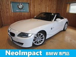 BMW Z4 ロードスター2.5i ブラックレザーシートヒータ バッテリ新品
