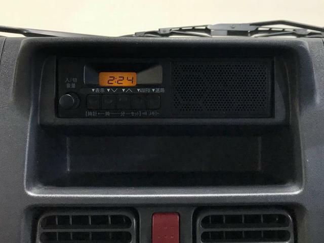 AM/FMラジオ付き♪