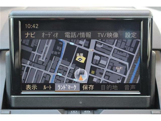 純正HDDナビ付きです♪フルセグTVやミュージックサーバー機能などもご利用いただけます☆