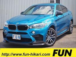 BMW X6 M 4.4 4WD 3Dデザインカーボンエアロサンルーフ 白革