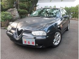 アルファ ロメオ アルファ156 2.5 V6 24V 6速MT ワンオーナー レザーシート 禁煙