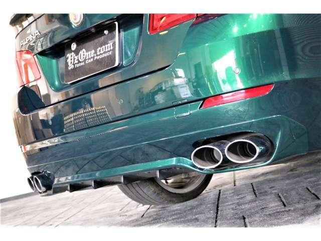 B5ビターボから引き継いだ排気システムは、繊細なサウンド・アプリケーションとマフラー容量減少により、ディーゼル車として特に高回転の場合、驚くほど充実したサウンド・スケープを提供