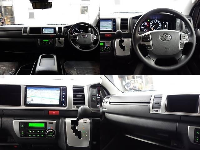 ナビにはカロッツェリア製SDナビを新品で装着!BluetoothオーディオはもちろんDVD再生やフルセグTVなどの機能面も充実♪