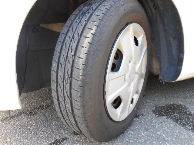 タイヤ溝も充分有り!