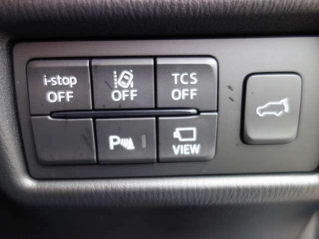 バックドアも電動で開け締めできるパワーバックドア付き!コーナーセンサーやレーンキープアシスト、横滑り防止機能など安全装備も充実しています。