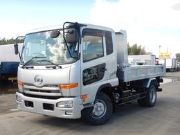 UDトラックス コンドル 4tダンプ 電動コボレーン付き 6MT ターボ ベッドスペース付き