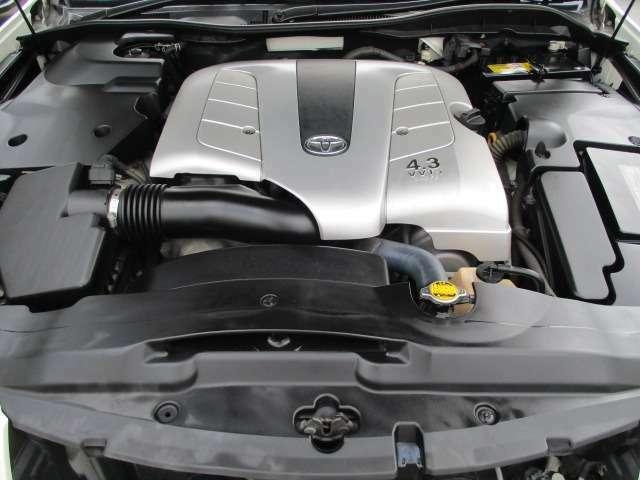Bプラン画像:☆V型8気筒DOHC 3UZ-FEエンジン 280PS(カタログ値)☆