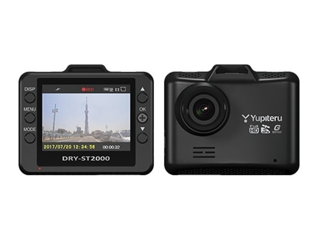 Bプラン画像:今流行りのドライブレコーダー!運転中常時録画、さらにGセンサー、GPS機能もついています!