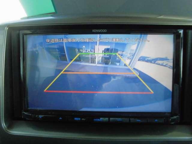 バックカメラの写真です。バック駐車も楽々。