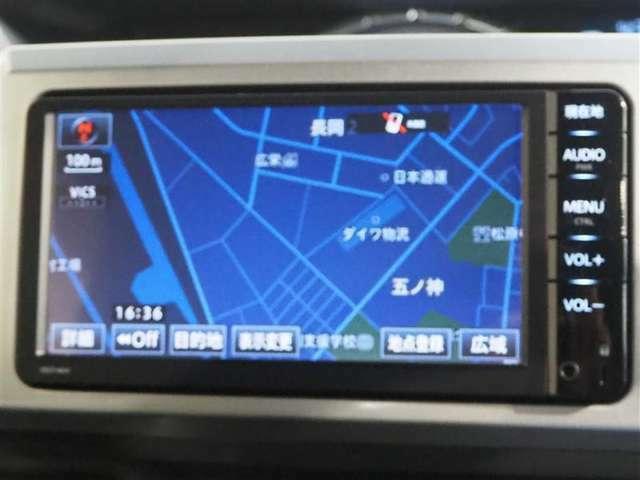 トヨタ純正7インチフルセグメモリーナビです。Bluetoothが接続できます。