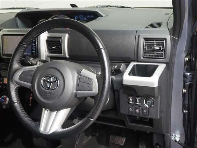 ハンドルは軽やかに回り、気持ちよく運転が出来ますc