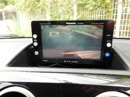 バックカメラがあれば後方の視野をカバーしてくれるので、安心・安全が確保できます。後退駐車のサポートにかかせないアイテムです!