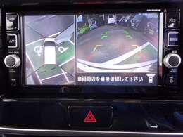 アラウンドビューモニター付き!駐車が苦手な方でも楽に駐車が可能です◎