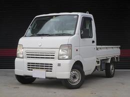 スズキ キャリイ 660 KCエアコン・パワステ 3方開 4WD エアコン パワステ 保証付
