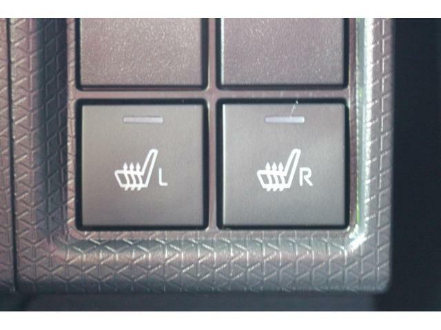 シートの表面を温め寒い日のドライブを快適にしてくれるシートヒーターが装備されています☆