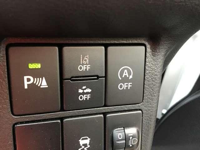音で障害物との距離を知らせてくれる機能です!特に後方の確認・コーナーの距離感をしっかり教えてくれます!角を「ガリッ」と行った事がある方・・・この装備で問題解決!