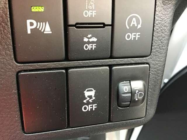 突然の路面状況の変化や危険回避のために急激なステアリング操作をした場合などに自動車の車両姿勢が乱れた際、万が一の事態をなし得る限り回避するためにドライバーの運転操作を安心サポート!