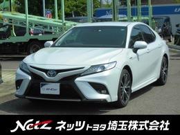 トヨタ カムリ 2.5 WS レザーパッケージ 当社社用車 本革シート SDナビ Bモニター
