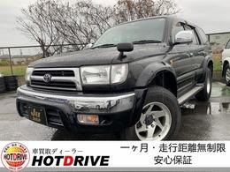 トヨタ ハイラックスサーフ 2.7 SSR-X Vセレクション 4WD 背面タイヤ・ガソリン・ナビ